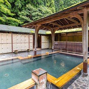 Open-Air Bath for Gentlemen at the Kurama Onsen