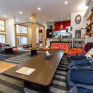 Living Room at the Fujitaya Kyoto