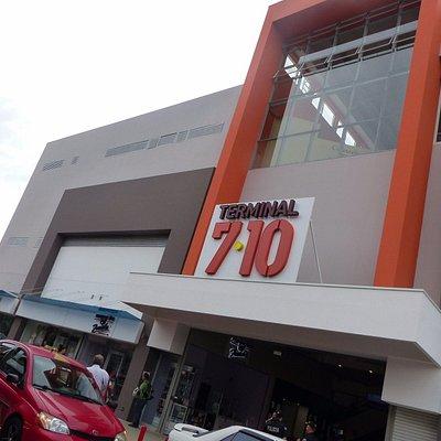 Frente do terminal