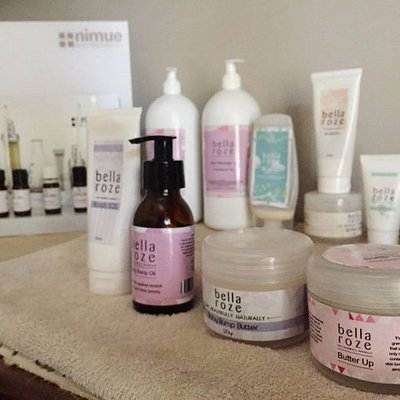Products used during treatments at Mommy Wellness Day Spa Durbanville