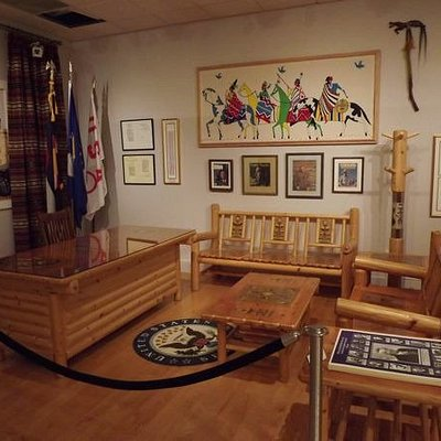 Ft Lewis museum Senator Nighthorse Campbell office