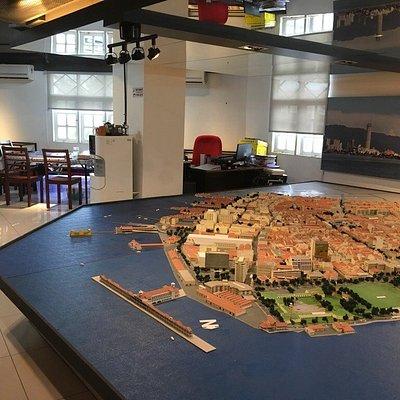 Diorama of George Town Unesco Heritage Zone