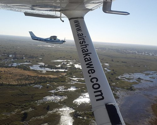 Our aircraft in formation