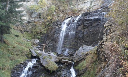 waterfall in october