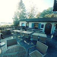 Restaurant Balcony With Sea View