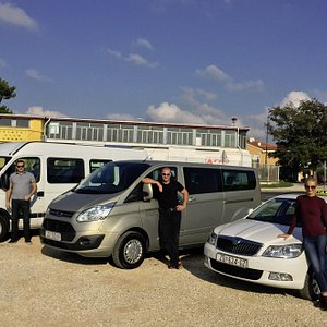 Our drivers, car, shuttle and minibus we use for daily tours to National Parks or airport transf