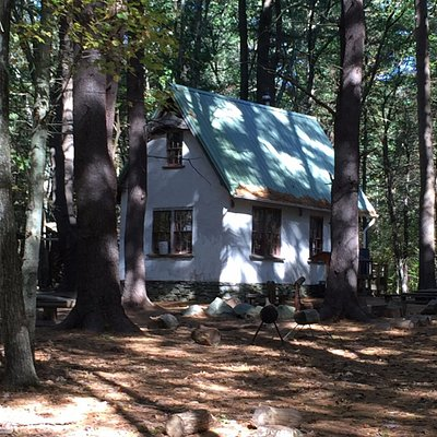 A Story Book Cottage at the Natick Community Organic Farm Forest