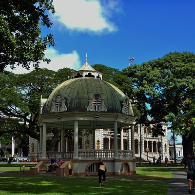 The Bandstand in the palace grounds
