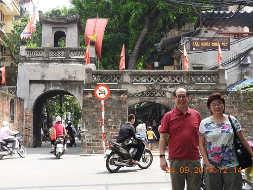 Old fortress in Hanoi