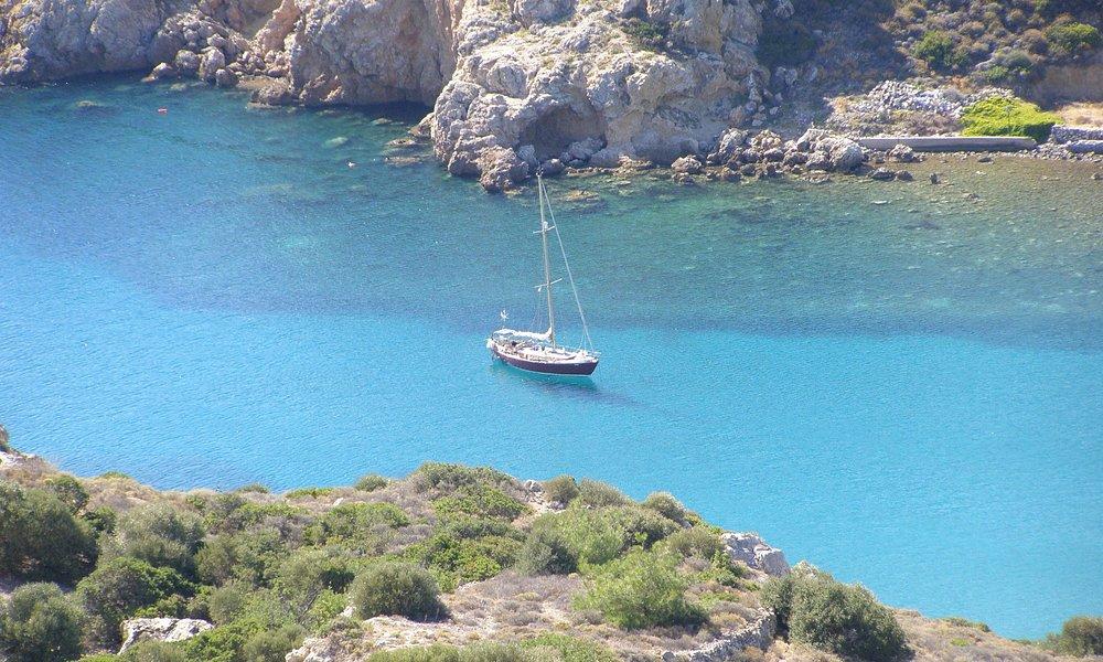 View to Emporeios port