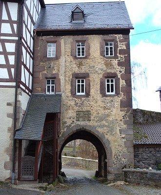 Schloß Eisenbach - Tor der Vorburg