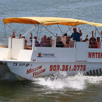 Mellow Yellow is available for Water Taxi Services, Lake History Cruises & Shuttles!