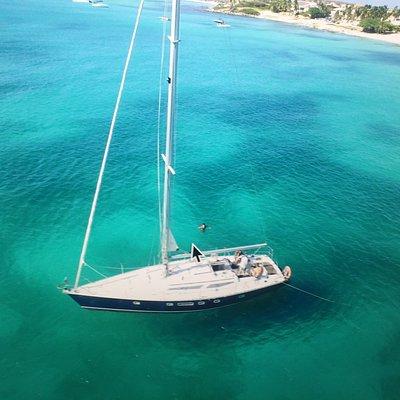 Beautiful sailing