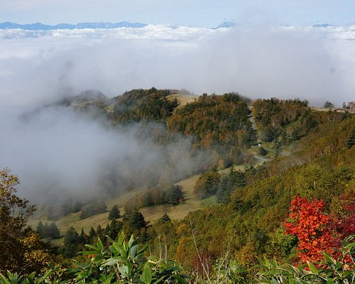笠ヶ岳登山中の景色2