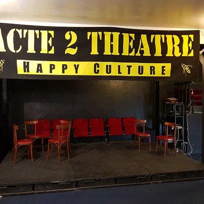 ...Un théâtre sympa et sans prétention  !  On y va... et on y retourne !!!  BRAVO  !