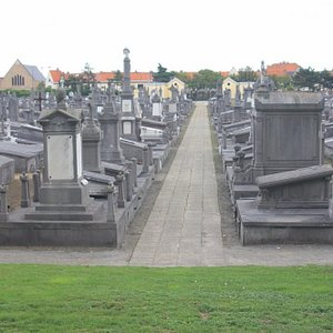 He is buried in this cemetery