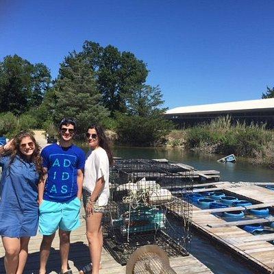 Oyster Farm Tour