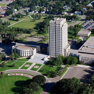 """ND State Capitol, the """"Skyscraper of the Prairie"""""""