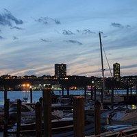 View of Marina & NJ at sunset