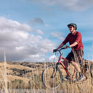 Big skies and another beautiful day on the Otago Central Rail Trail