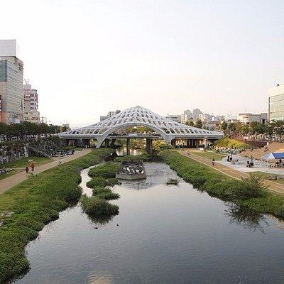 대전 목척교 전경