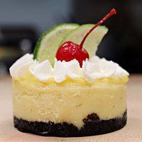 House made key lime cheesecake