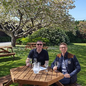 Wine tasting at Martinborough Vineyard on the Martinborough Winery Tour