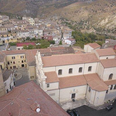 Vista dal drone della Chiesa