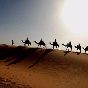 Erg Chebbi Merzouga dunes