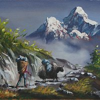 Mt Amadablam @ Universal Art Gallery