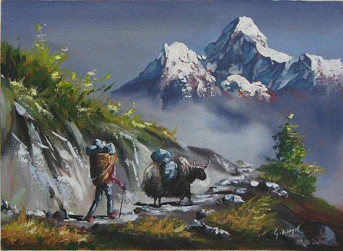 Mt Amadablam @ Universal Art Gallery