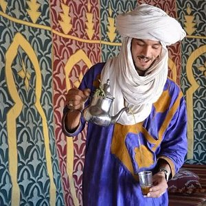 Tea time, the Moroccan way.
