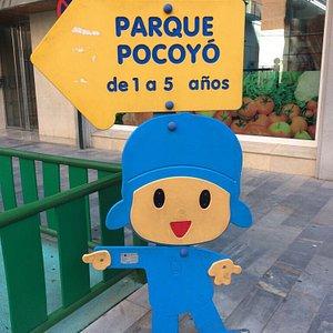 Parque Pocoyó en Calle Batalla de las Flores 1-3, Murcia