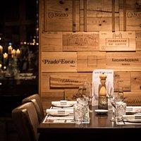 Een van onze mooie tafels.