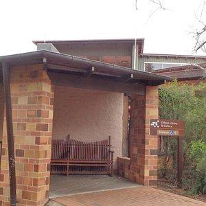 Greg Burgess designed Eltham Library - branch of the Yarra Plenty Regional Library