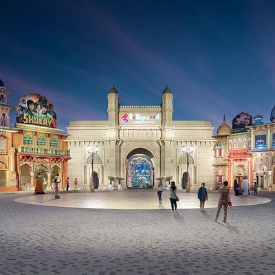 Bollywood Parks Dubai - Entry Gate