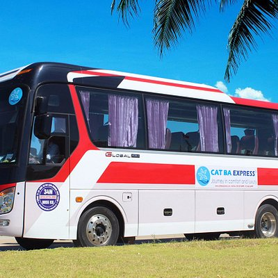 Univer Global (The finest bus for Vietnam traffic)