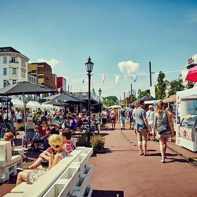 Der Viertel Meile Design Markt