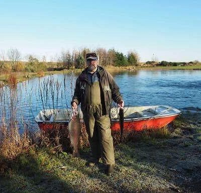 Tight line days at Wellsfield Trout Fishery.