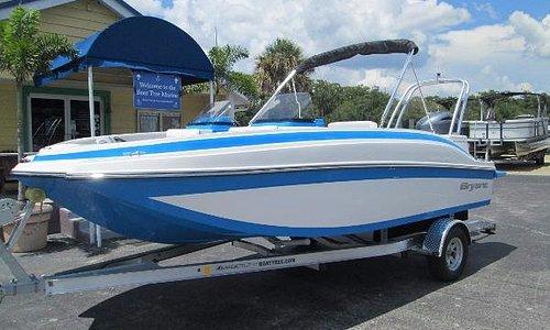 Bryant Deck Boat