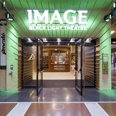 Image Theatre entrance and box office