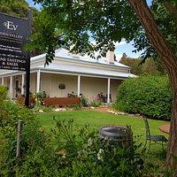 Taste Eden Valley stone cottage view from the garden