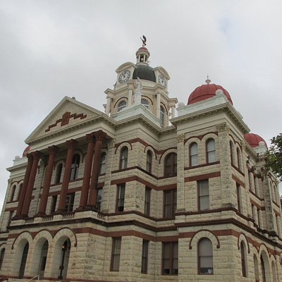 1897 Coryell Courthouse in the Second Empire Victorian Style