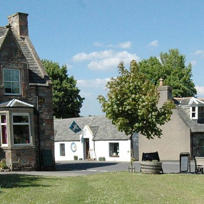 Tomintoul Art Gallery - external front view.