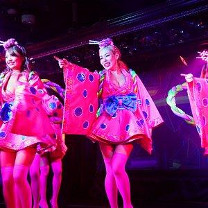 Japanese influenced Burlesque Show