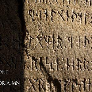 Runic writing on the world famous Kensington Runestone