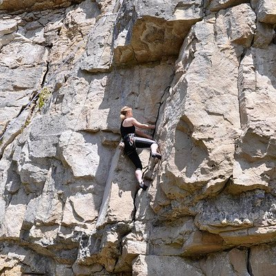 Climbing course at Swanage