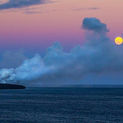 The Coast in Hawai'i Volcanoes National Park