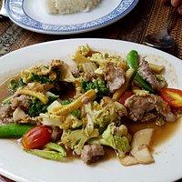 Porc aux légumes