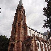 Mutzig - Eglise St Maurice (vue extérieure)